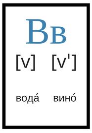 русский алфавит с произношением в