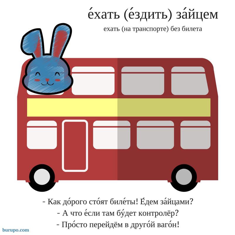 Ездить / ехать зайцем