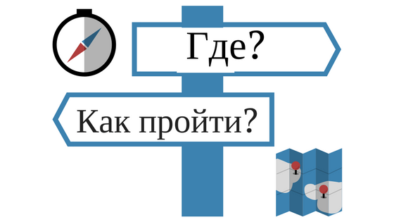 Lesson A2: Talk about directions in Russian