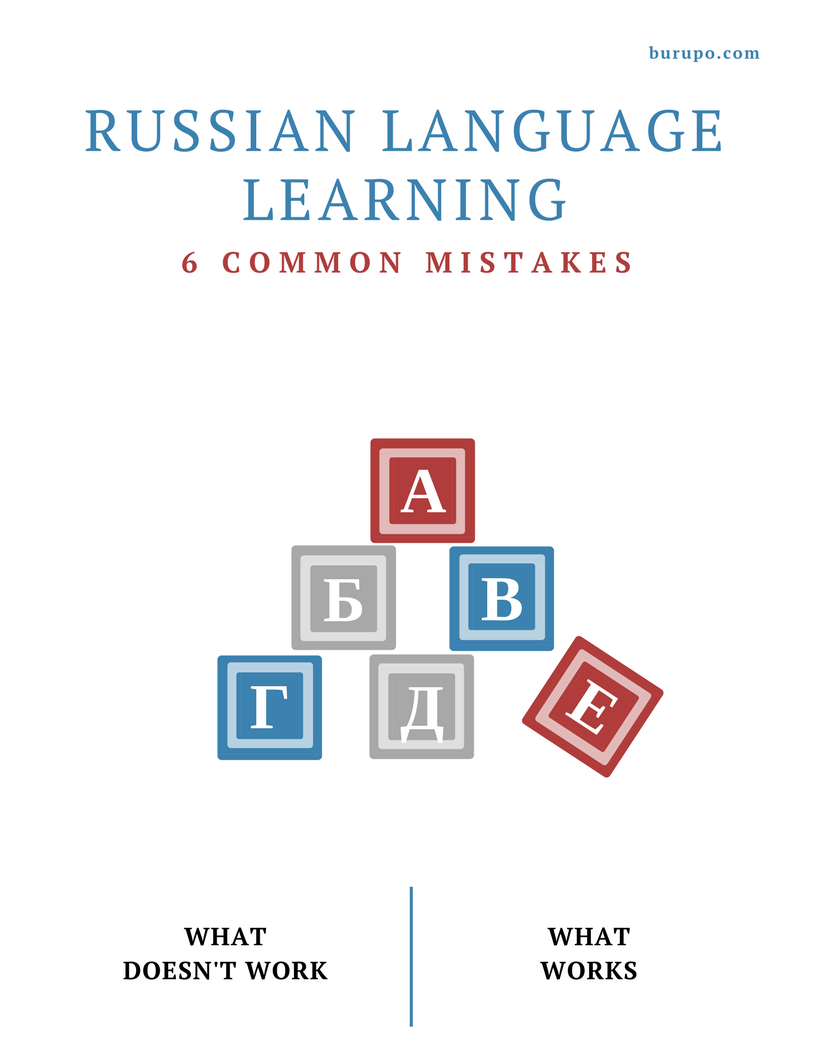 how to learn Russian: Russian Language for Life and Work newsletter