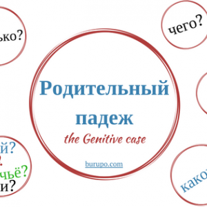 The genitive case in Russian. When and how to use it