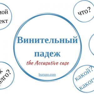 Винительный падеж в русском языке. Когда и как использовать